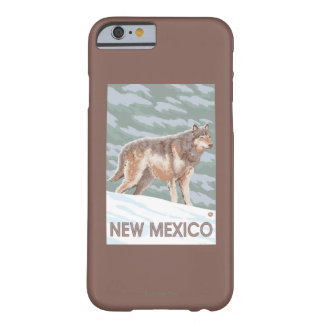 Gray Wolf StandingNew Mexico Barely There iPhone 6 Case