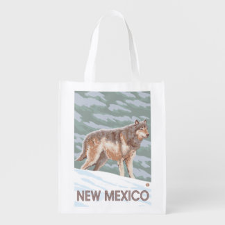 Gray Wolf StandingNew Mexico Market Tote
