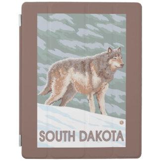 Gray Wolf StandingSouth Dakota iPad Cover