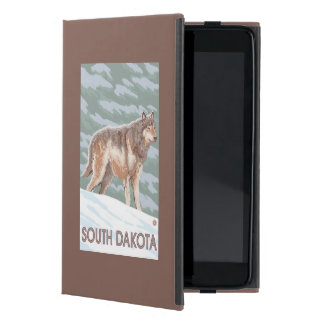 Gray Wolf StandingSouth Dakota iPad Mini Cover