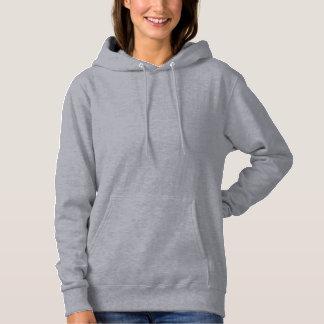 Gray Women's Basic Hooded Sweatshirt
