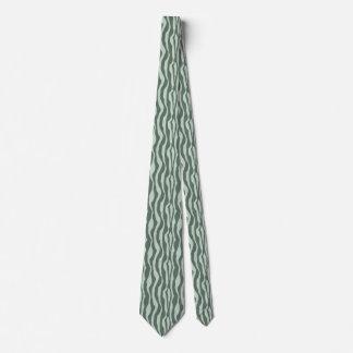 Grayed Jade Shapes Classy Tie