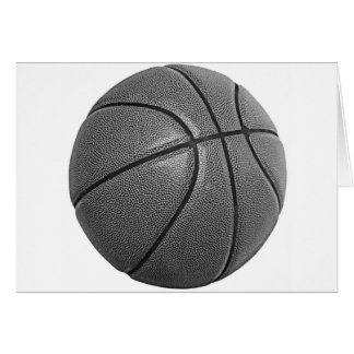 Grayscale Basketball Card