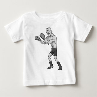grayscale boxer baby T-Shirt