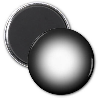 Grayscale Spotlight: Customize This Template! 6 Cm Round Magnet