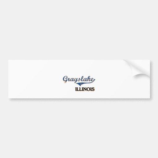 Grayslake Illinois City Classic Bumper Stickers
