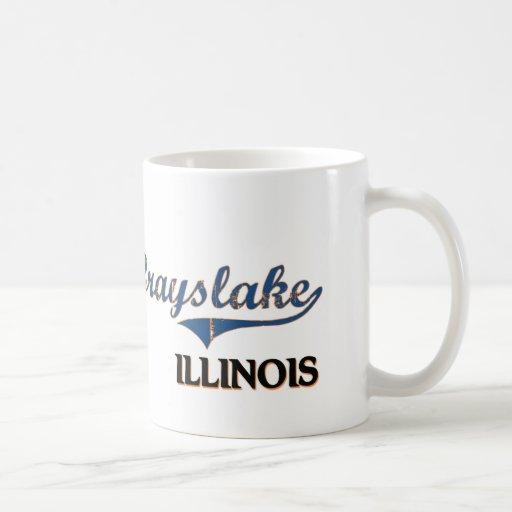 Grayslake Illinois City Classic Coffee Mugs