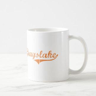 Grayslake Illinois Classic Design Basic White Mug