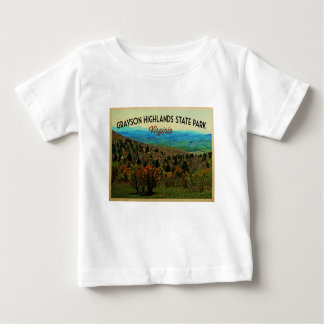 Grayson Highlands Virginia Baby T-Shirt