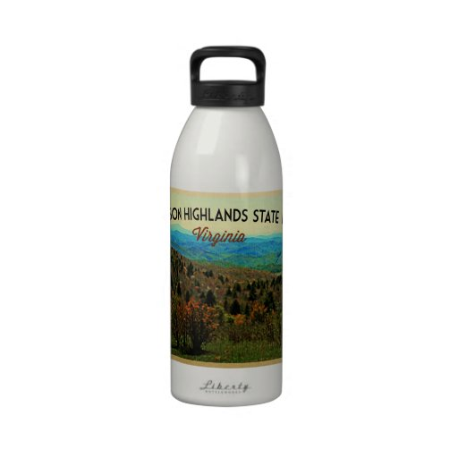 Grayson Highlands Virginia Reusable Water Bottle