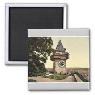 Graz, the clock, Styria, Austro-Hungary classic Ph Magnet