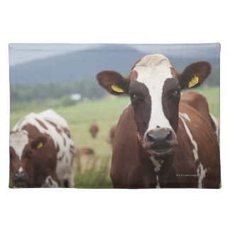 Grazing cows placemat