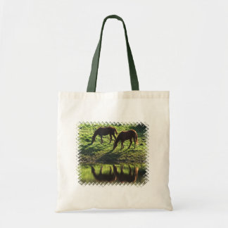 Grazing Horse Pair Small Bag