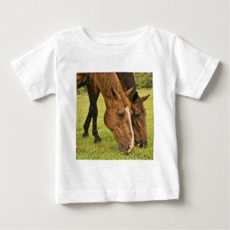 Grazing Horses Baby T-Shirt