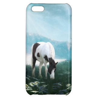 Grazing paint horse iPhone 5C covers