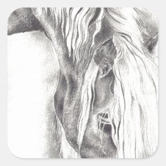 Grazing Pony Stickers