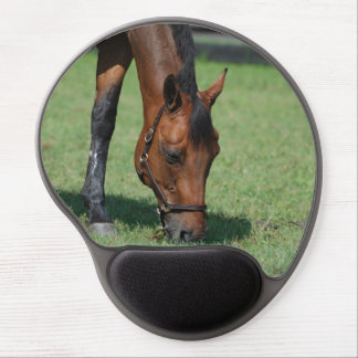 Grazing Quarter Horse Gel Mouse Mat