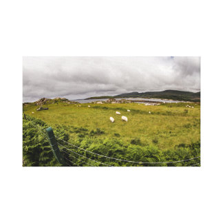 """Grazing sheep"" canvas prints/wall art"