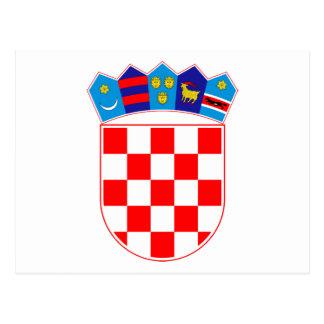 Grb Hrvatske Croatian coat of arms Post Cards