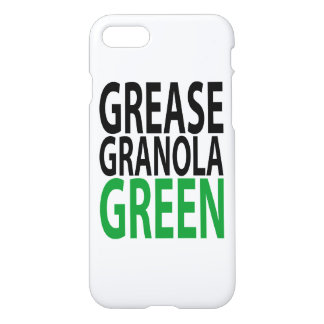 grease, granola, GREEN iPhone 7 Case