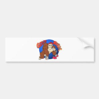 Grease Monkey Car Bumper Sticker