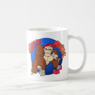 Grease Monkey Classic White Coffee Mug
