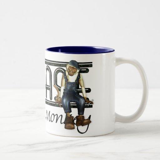 Grease Monkey Mechanics Humorous Coffee Mug