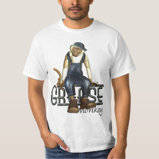 Grease Monkey Mechanics Value T-Shirt