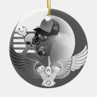 Grease Monkey Tree Ornament