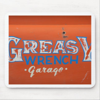 Greasy Wrench Mouse Pad