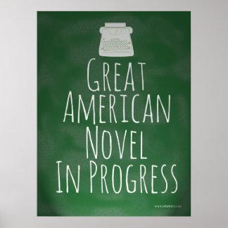 Great American Novel in Progress Poster