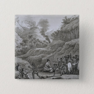 Great Asian Archipelago: French explorers with nat 15 Cm Square Badge