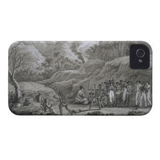 Great Asian Archipelago: French explorers with nat iPhone 4 Case-Mate Cases