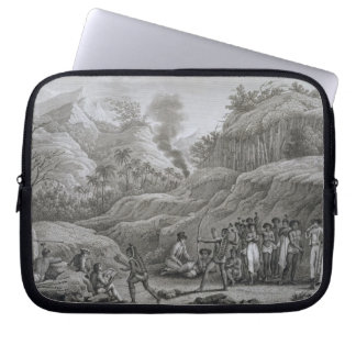Great Asian Archipelago: French explorers with nat Laptop Sleeve