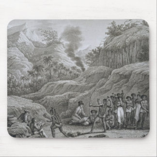 Great Asian Archipelago: French explorers with nat Mouse Mat
