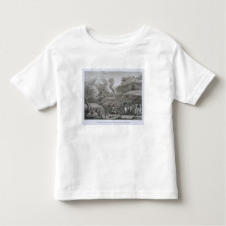 Great Asian Archipelago: French explorers with nat Toddler T-Shirt