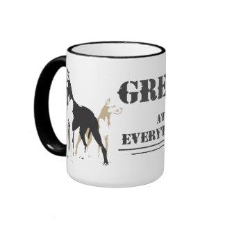 Great at Everything mug design
