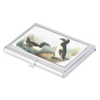Great Auk by Audubon Business Card Case