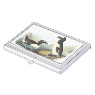 Great Auk by Audubon Business Card Holder