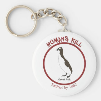 Great Auk Key Ring