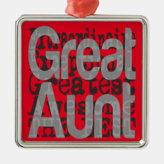 Great Aunt Extraordinaire Christmas Ornament