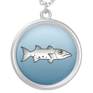 Great Barracuda Silver Plated Necklace