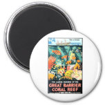 Great barrier coral reef magnet