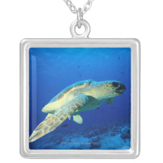 Great Barrier Reef, Australia 2 Silver Plated Necklace