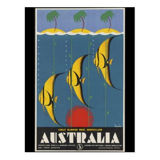Great Barrier Reef Australia Postcards