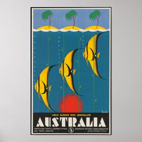 Great Barrier Reef, Queensland, Australia Poster
