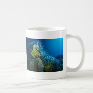 Great Barrier Reef Tropical Fish Coral Sea Basic White Mug