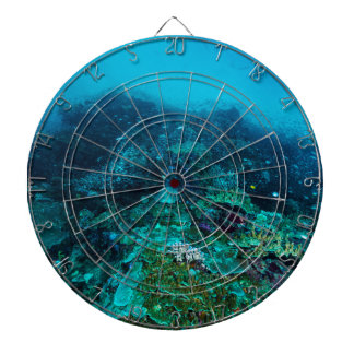 Great Barrier Reef Tropical Fish Coral Sea Dartboard