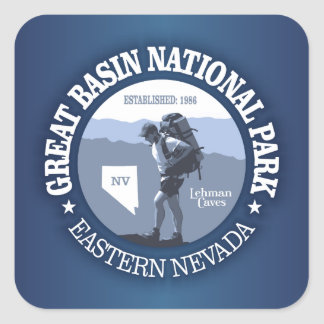 Great Basin National Park Square Sticker