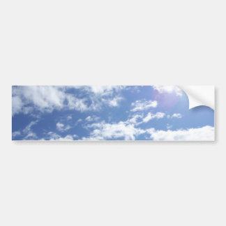 Great Big Sky with a bit o' sun Bumper Sticker